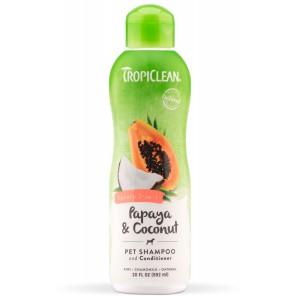 Tropiclean prabangus šampūnas Papaya Plus 2 in 1