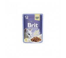BRIT PREMIUM Cat Delicate Beef/jelly konservai katėms