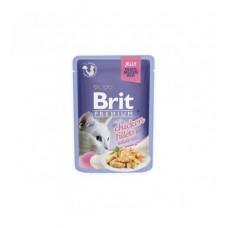 BRIT PREMIUM Cat Delicate Chick/Jelly konservai katėms