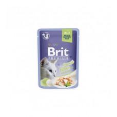 BRIT PREMIUM Cat Delicate Trout/Jely konservai katėms