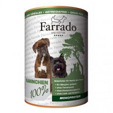 FARRADO vieno baltymo konservai - 100% triušiena