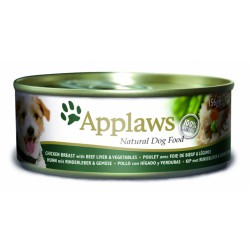 Applaws Dog Chicken Breast, Beff liver & Vegetables