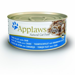 Applaws Cat Tuna Fillet with Crab