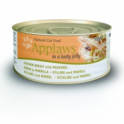 Applaws Cat Chicken Breast with Mackerel in jelly