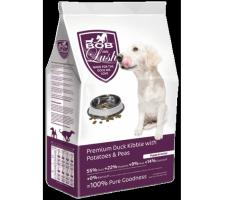 Bob & Lush 55% Duck Kibble for Puppy & Junior