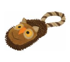 Rosewood Mini Slipper Tug Owl
