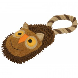 Rosewood Mini Slipper Tug Owl