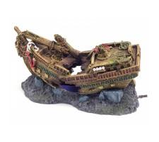 Rosewood pet Shipwreck Bubbler