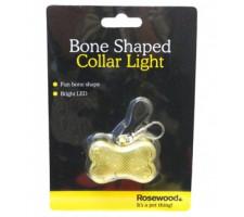 Rosewood Shaped Collar Light