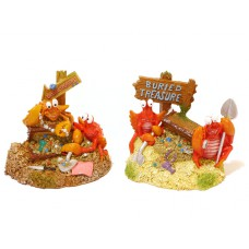 Rosewood pet Treasure Trove Crabs (komplekte 2 vnt)