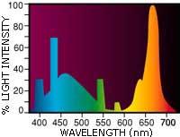 Hagen Aqua-Glo spektras