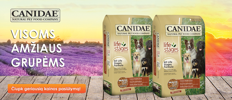 CANIDAE All Life Stages pasiūlymas